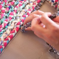 Braided Rug DIY