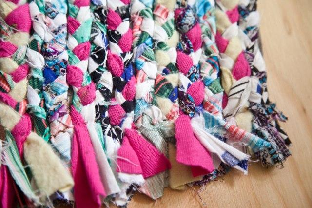 Braided rug crafts