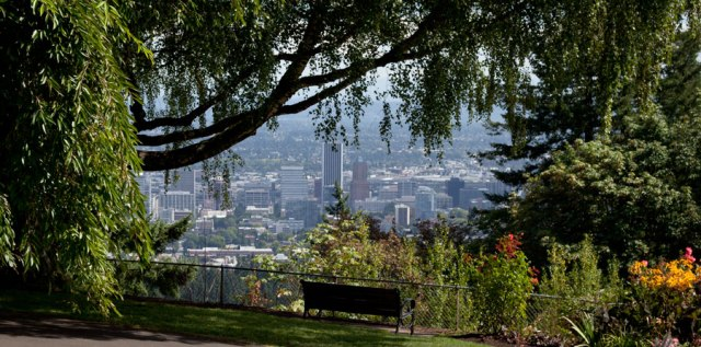 Downtown View of Portland