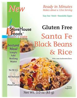 StoreHouse Foods Santa Fe Black Beans
