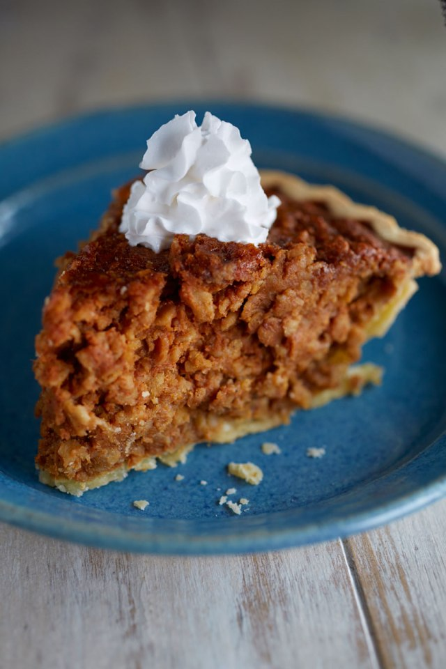 gluten free pumpkin bread pie
