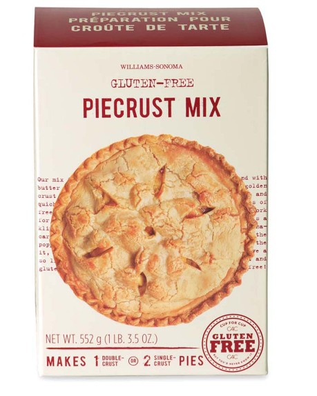Williams Sonoma gluten free pie crust